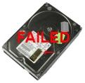 failed disk drive