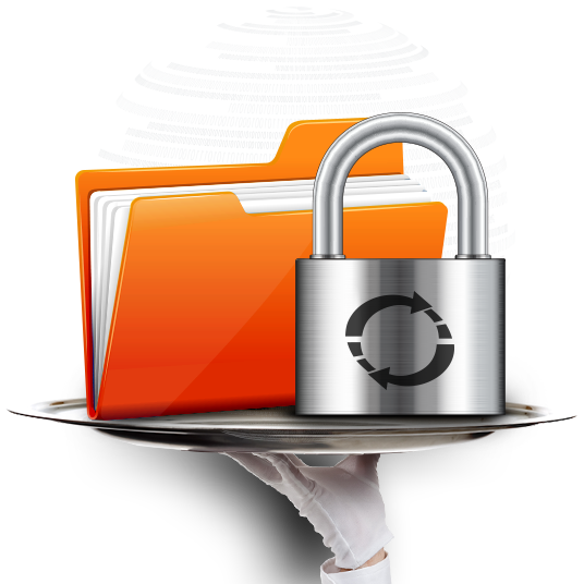 online backup service security
