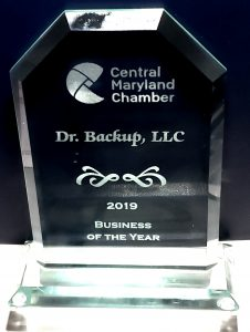 Dr.Backup Small Business of the Year Award